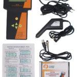 Tester wraz z dostarczanymi akcesoriami